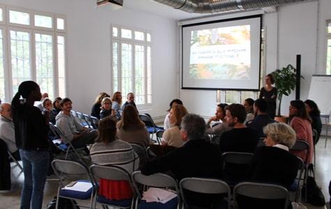 Conférence au chateau de Nanterre