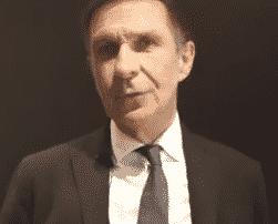 Capture d'écran de la vidéo interview d'Hervé Navellou