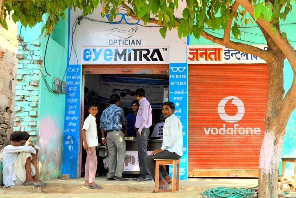 Une boutique EyeMitra en Inde